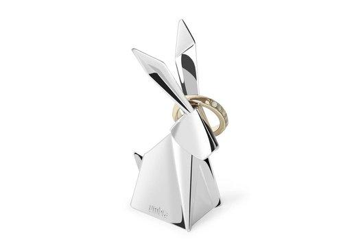 Origami Ringhouder konijn chrome