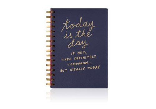 Cortina Notes to self - Today is the day notebook