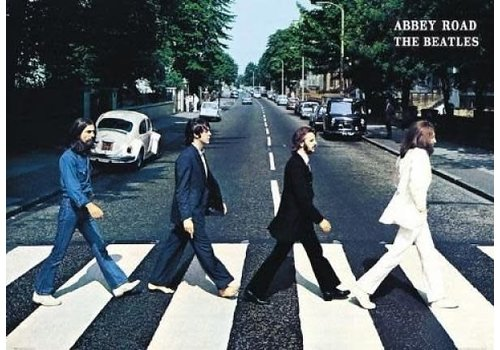 Poster |  The Beatles abbey road