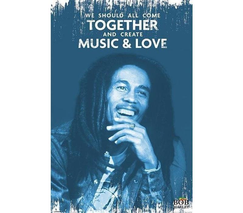 BOB MARLEY - MUSIC & LOVE