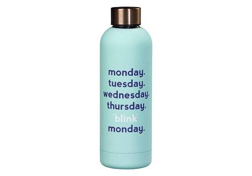 Cortina Water Bottle - Monday blink fles