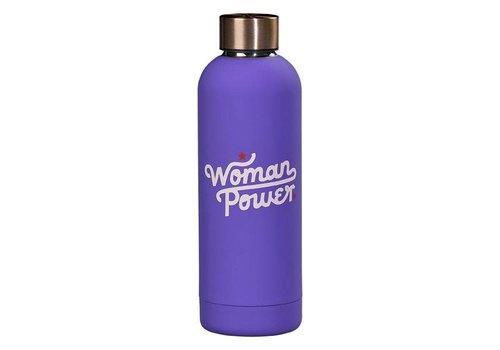 Cortina Water Bottle - Woman Power fles