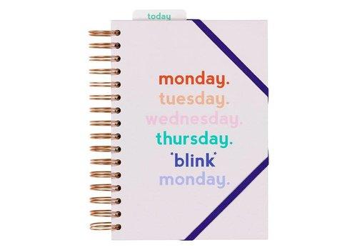 Wild & Wolf Planner Monday Blink