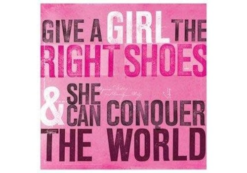 Coaster - Give a girl the right shoes