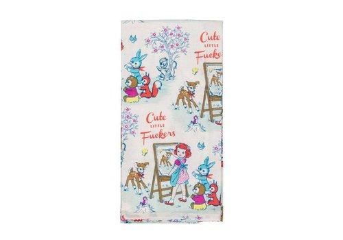 Cortina Theedoek  - Cute Little Fuckers - Dish Towel