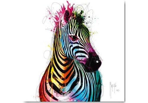 Zebra Pop 30x30