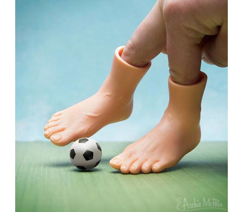 Fingerpuppet - Feet Voet