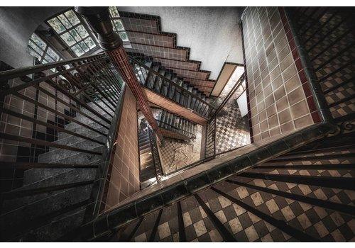 Steven Dijkshoorn Abondoned Staircase