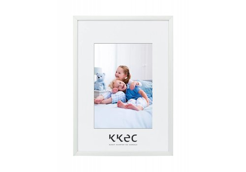 KKEC lijsten Aluminium lijst mat zilver – 28x35cm