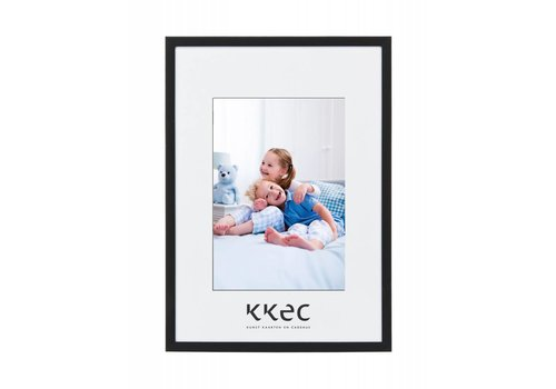 KKEC lijsten Aluminium lijst mat zwart – 18x24cm