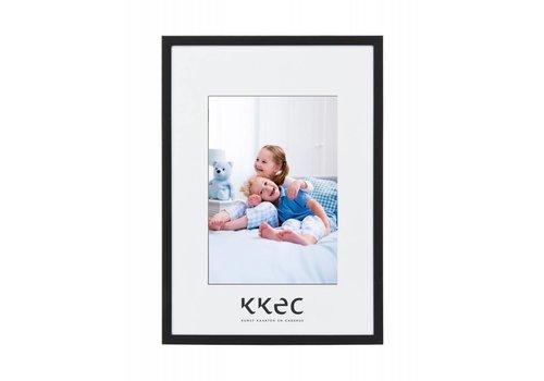 KKEC lijsten Aluminium lijst mat zwart – 28x35cm