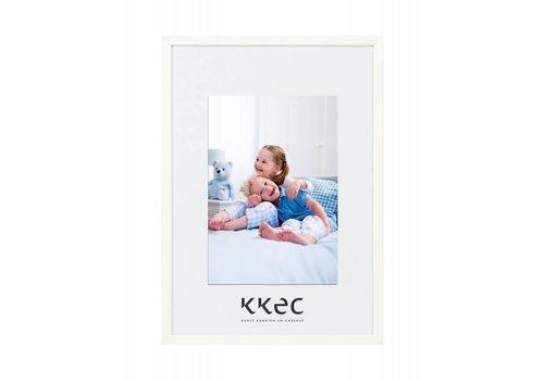 KKEC lijsten Aluminium lijst wit – 62x93cm