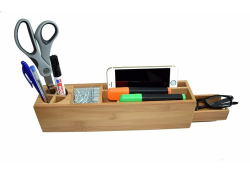 Invotis Bamboo desk long