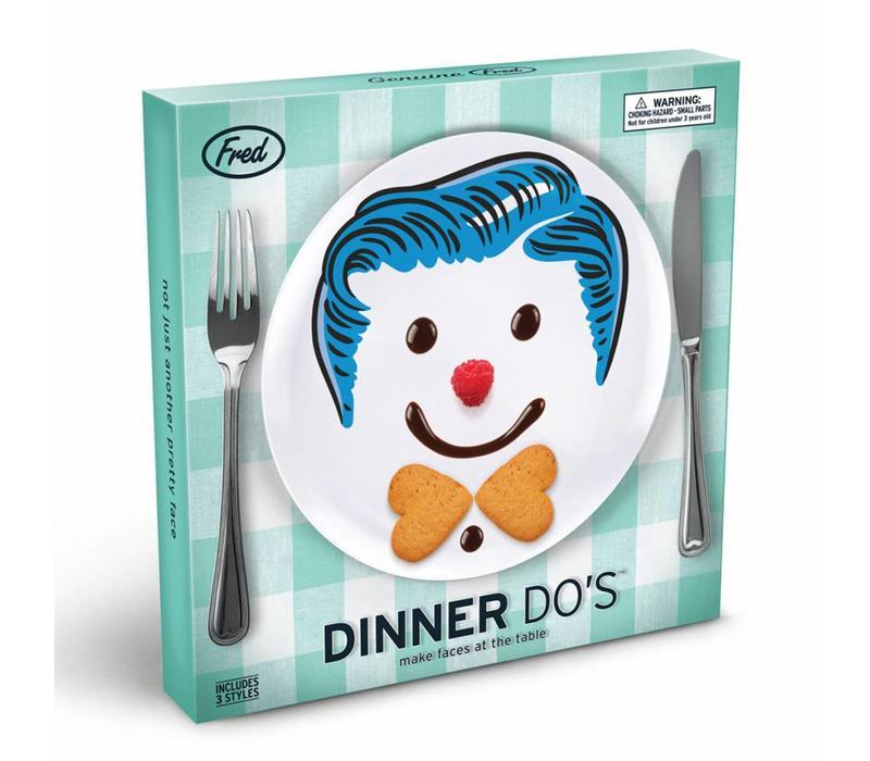 Dinerbordjes boys