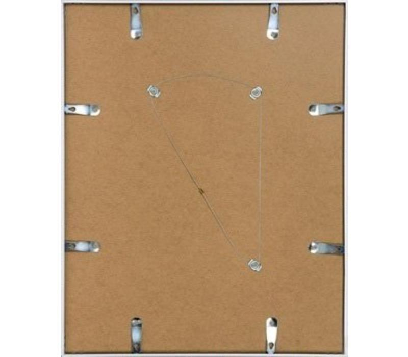 Aluminium lijst mat zilver – 50x50cm