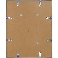 Aluminium lijst mat zilver – 56x71cm