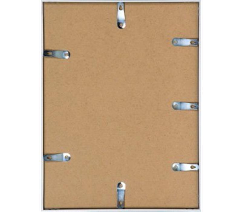 Aluminium lijst mat zilver – 24x30cm