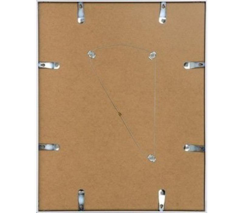 Aluminium lijst mat zilver – 62x93cm
