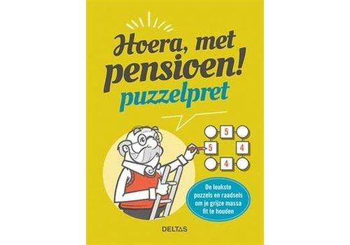 Deltas Hoera met pensioen puzzelpret