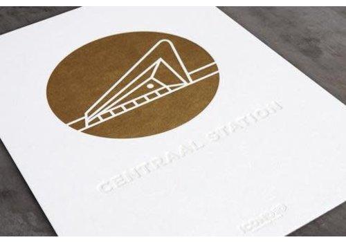 ICON010 Artprint Centraal Station - A4