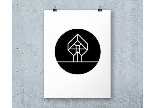 ICON010 Poster Kubuswoning