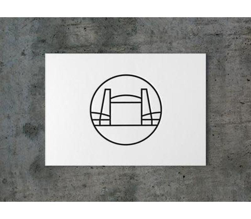 Ansichtkaart de Hef