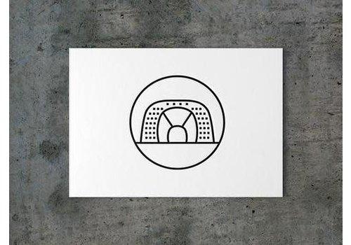 ICON010 Ansichtkaart de Markthal