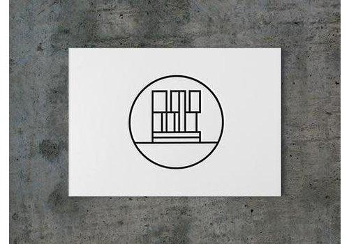 ICON010 Ansichtkaart de Rotterdam