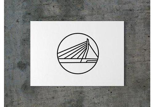 Ansichtkaart Erasmusbrug
