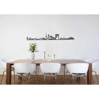 Skyline Rotterdam - zwart mdf 90cm