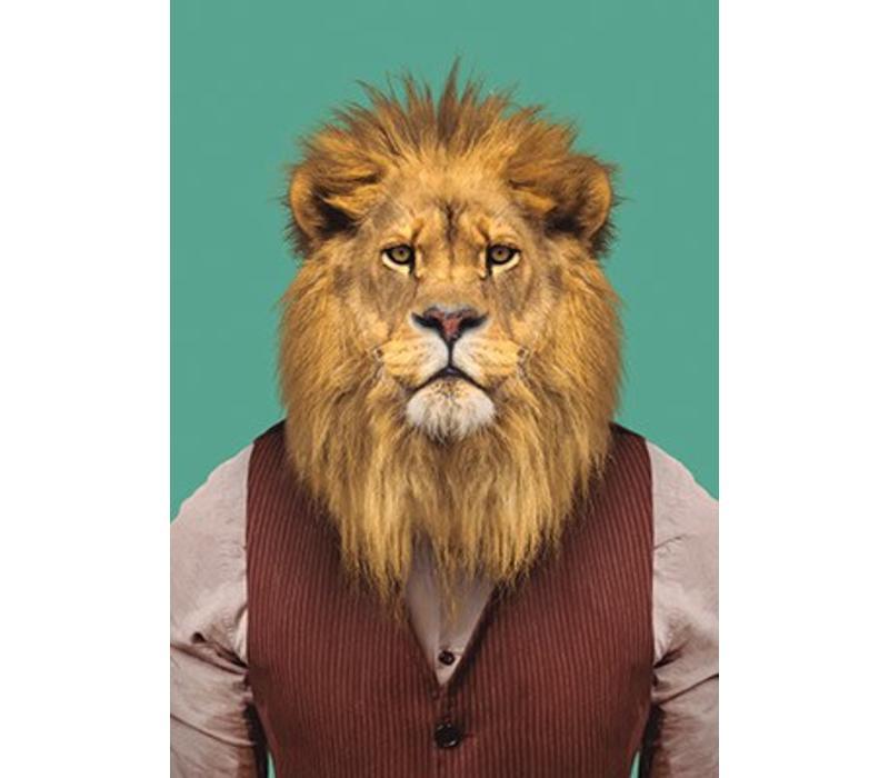 Stoere leeuw