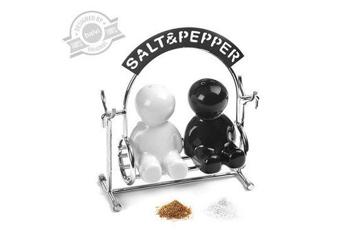 Balvi Salt-pepper set,Salt&Pepper,metal/ceramic