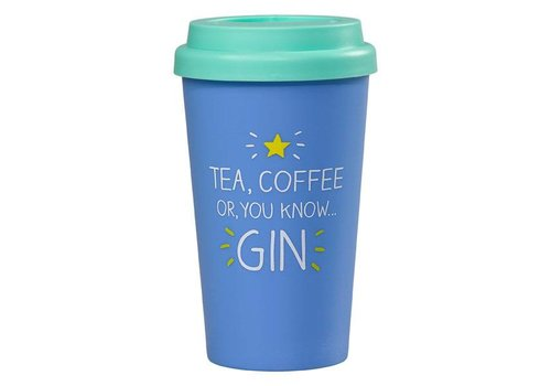 Cortina Travel Mug   Tea Coffee Or Gin   Reisbeker