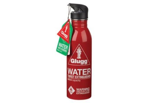 Wild & Wolf Water Bottle - Gulp Red Waterblusser - Waterfles
