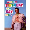 Hope your birthday is as gay as you