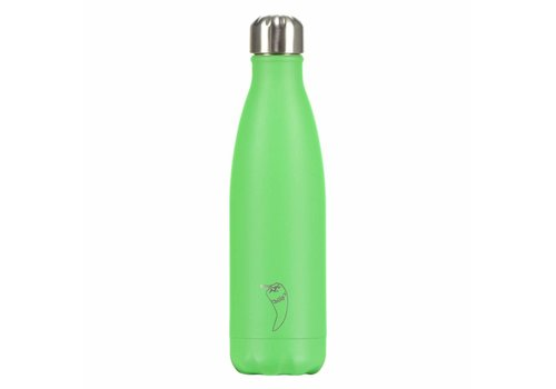Chilly's Chilly's bottle 500ml neon green