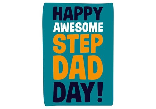 Happy awesome step dad day!