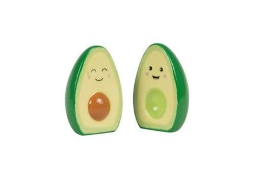 Sass & Belle Happy avocado salt & pepper set
