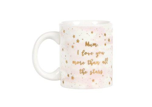 Sass & Belle Scattered stars mum mug
