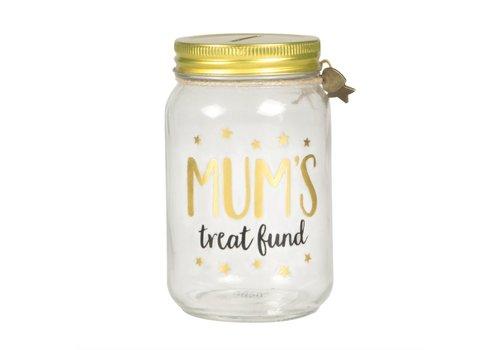 Sass & Belle Mum's Treat Fund Money Jar