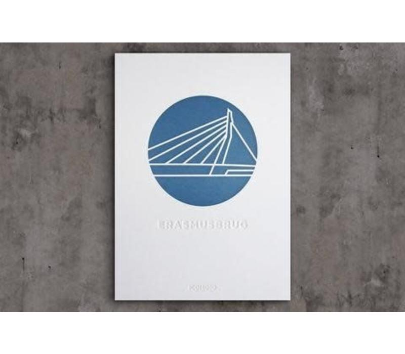 Artprint de Erasmusbrug - A4