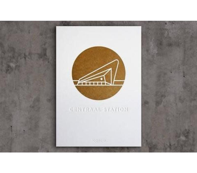 Artprint Centraal Station - A4