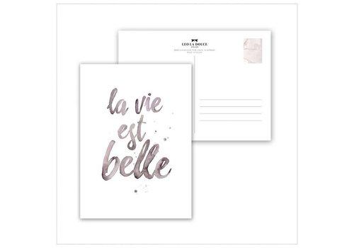 Leo La Douce La vie es belle