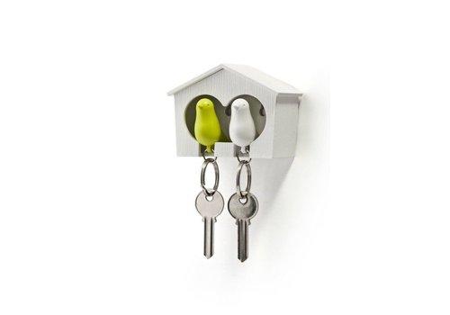 Sleutelhouder - Sparrow key duo - groen