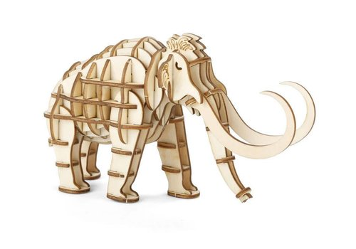 Kikkerland 3D Mammoth wooden puzzle