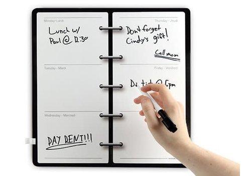 Kikkerland Magnetische whiteboard agenda