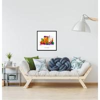 De Rotterdam - Pop art poster 30x30
