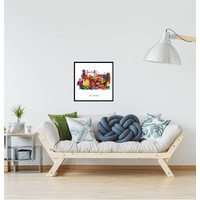 Rotterdam poster | collage | Pop art poster | 30x30