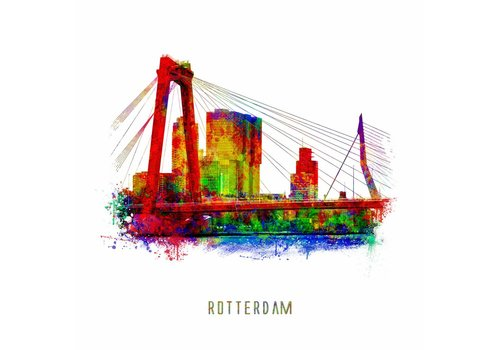 Ben Kleyn De Willemsbrug – Pop Art
