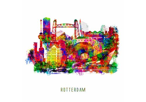 Ben Kleyn Rotterdam collage – Pop Art